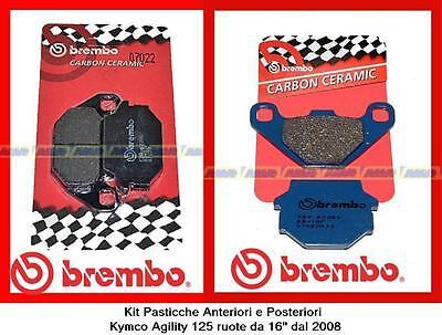 PASTIGLIE FRENO BREMBO ANTERIORI APRILIA 125 RS /' 2002 2003 2004 2005  07GR5605