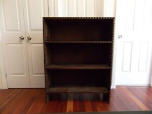 Wooden Book Shelf Naremburn Willoughby Area Preview