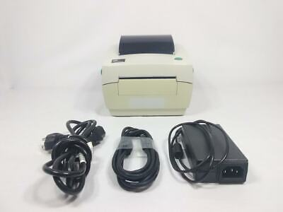 Zebra LP2844 Direct Thermal Label Printer w/AC Adapter USB Cable 1-year warranty