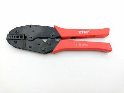 """1PC Coaxial Cable Ratchet Crimping Crimper Plier 0.346/""""//0.319/""""//0.256/""""HEX HS-02H1"""