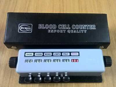 Differential Blood Cell Counter 5 Key With Protective Case Free Shipping