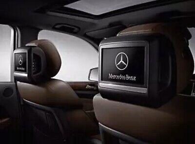 Mercedes Benz GL ML GLE W166 Fondentertainment Set Kit Nachrüstung Komplett