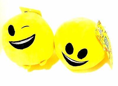 1 x Imoji Soft Ball Yellow Emoji Ball Emoticon Ball](Softball Emoji)