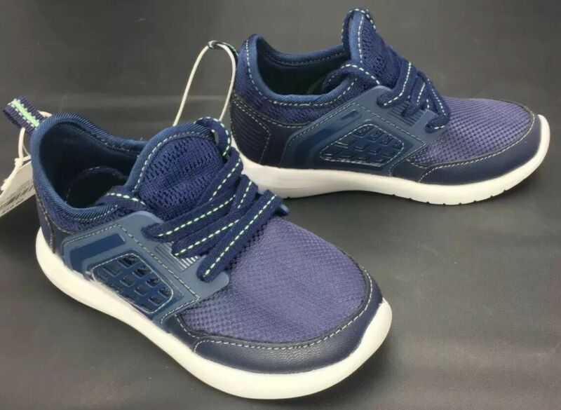 Cat and Jack Boys Toddlers Navy Zachary Lace Up Athletic Shoes Select Size