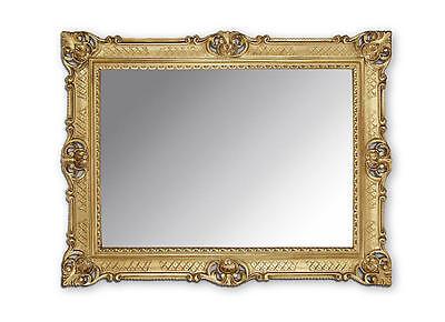 BILDERRAHMEN 90x70 GOLD ANTIK BAROCK RAHMEN ROKOKO FOTORAHMEN Hochzeitsrahmen