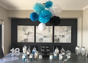 FOR HIRE $50 - Elegant Lolly Buffet Jars and Dual Drink Dispenser Atwell Cockburn Area Preview