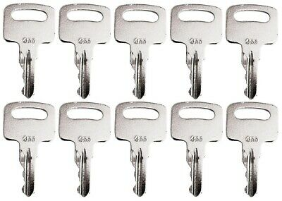 10 Keys For Genie Skyjack Snorkel Terex Vermeer Upright Lifts 455 104466