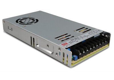 Mean Well Rsp-320-5 Ac To Dc Switching 5 Volt Enclosed Power Supply