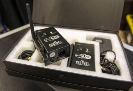 Wireless DMX - Control your DMX lighting without wires! - x2 Kits