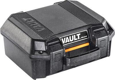 Pelican Vault Small Pistol - Case W/ Foam Black