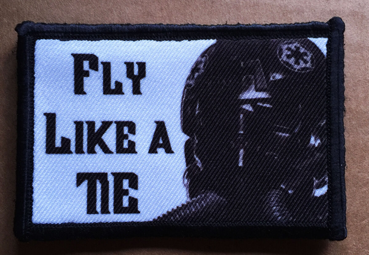 """Star Wars /""""I Have You Now/""""  Morale Patch Tactical Military Army Badge Hook Flag"""