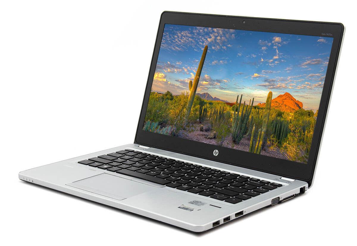 Laptop Windows - HP Elitebook Folio 9480M  Laptop 256GB SSD 16GB Ram 128GB SSD Webcam Win 10