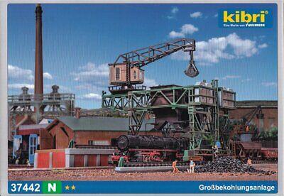 Kibri N 37442 Bausatz Großbekohlungsanlage - OVP NEU
