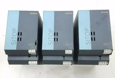 Siemens Sitop 6ep1-334-2aa01 24 Volt Dc 10a Power Supply - Tested And Verified