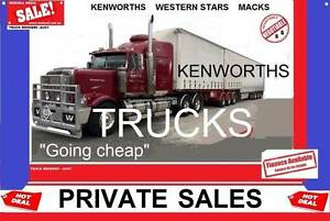KENWORTHS - prime movers- tippers Melbourne CBD Melbourne City Preview