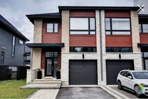 Beautiful semi detached home for sale or rental in blainville