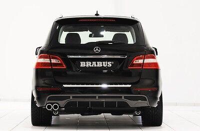 BRABUS Sportauspuff für Mercedes Benz ML W166 250 & 350 BlueTEC