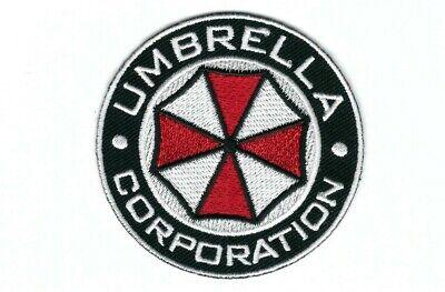 Round Umbrella Corporation Resident Evil VELCRO® BRAND Hook Fastener Patch