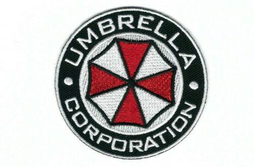 Round Security Force Umbrella Corp Biohazard Resident Evil Costume Jacket Patch