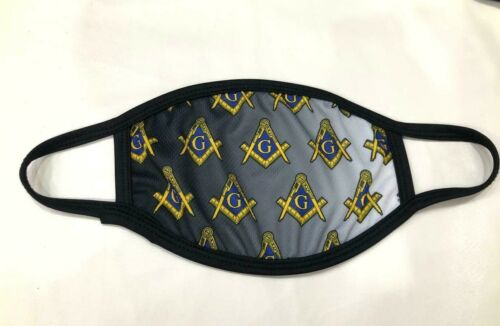 MASONIC MASTER MASON FACE MASK, FREEMASON FACE MASK , CUSTOM FACEMASK