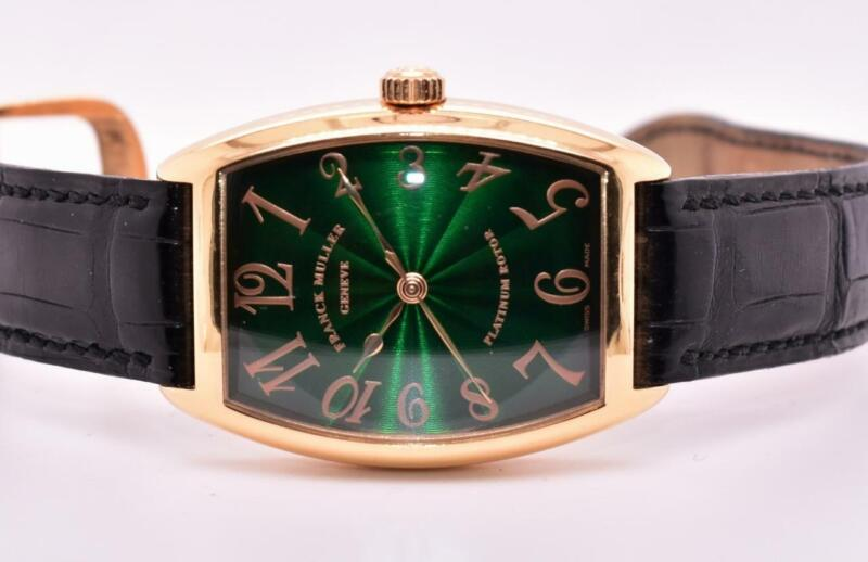Limited 18K Franck Muller Enamel Dial Automatic Wristwatch Model 2852 SC H B&P - watch picture 1