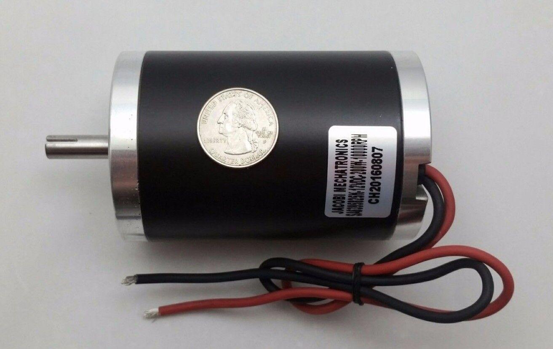 24V-DC 10000-RPM Fast Electrical-Motor Servo CNC Project 8mm-Keyed-Shaft 1//4-HP