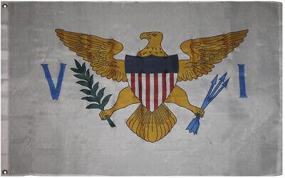 3x5 U.S. Virgin Islands Island Premium Quality Flag 3'x5' Banner Grommets