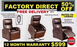 NEW ELECTRIC LIFT CHAIR Remote Control $599. RENT $7.05 PER WEEK. Ipswich Region Preview