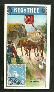 Serbia-Postman-Horse-stamp-Coat-of-Arms-ca-1900