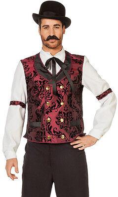 Saloon Barkeeper Western Kostüm  NEU - Herren - Herren Saloon Barkeeper Kostüm