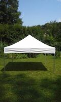Pop up tent canopy top