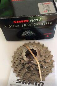 Cassette SRAM RED XG0190 11-25, 10 speed, 300 miles only