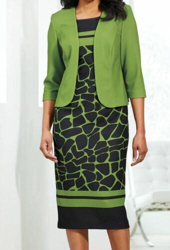 size 14 Aadya Print Jacket Dress  church wedding party by Ashro new