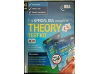 The official DSA complete theory test kit: pack of 2 dvds