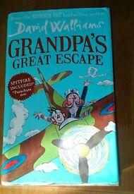Grandpa's Great Escape David Walliams books