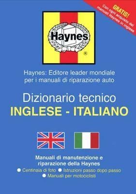 HAYNES TECHNICAL ENGLISH TO ITALIAN DICTIONARY MANUAL GUIDE TRANSLATOR WORKSHOP