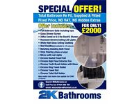 2K Bathrooms Washington (SUPPLY AND FIT) TELE 07434206784