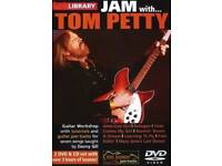 Lick Library Jam with Tom Petty DVD (New)