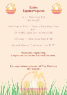Easter Hair Specials
