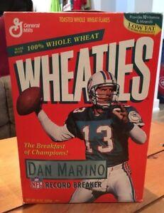 Dan Marino Wheaties Cereal Collection