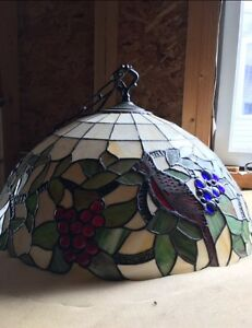 Stained Glass Tiffany Light in Camrose