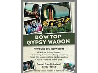 Bow top gypsy caravams