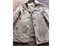 Women's New Look Suade & Fleece Coat 8/10