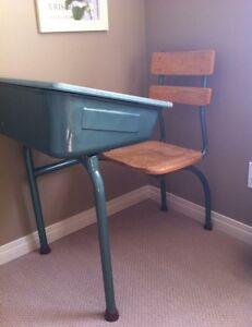 Antique School Desk!!