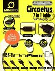 7 in 1 Fast Charging Cable (Minibird) (Sony PSP)