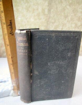 HANNAH THURSTON;A STORY Of AMERICAN LIFE,1864,Bayard Taylor (Story Of Hannah)