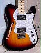 Fender Telecaster Thinline MIJ Sunburst Camperdown Inner Sydney Preview