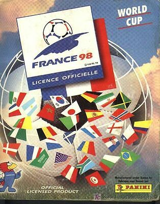 Panini World Cup France 98 choose pick your sticker bilder (25 to choose from)