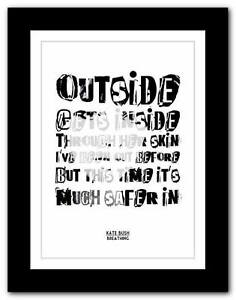 KATE-BUSH-Breathing-song-lyrics-typography-poster-art-print-A1-A2-A3-or-A4