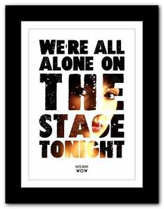 KATE-BUSH-Wow-song-lyrics-typography-poster-art-print-A1-A2-A3-or-A4